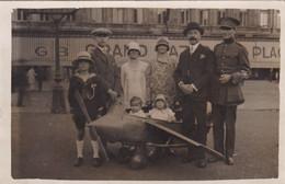 Liège Petit Avion 1929 Photo Carte - Albums & Verzamelingen