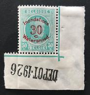 Houyoux Watersnood Depot 1926 - 1922-1927 Houyoux