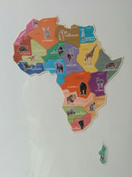 Magnets Brossard Afrique - Carte Complète - Magnets