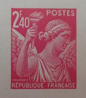 R1098/31 - 1944 - TYPE IRIS - N°654 - EPREUVE DE LUXE Des ATELIERS De FABRICATION Des T-P De PARIS - Luxeproeven