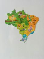 Magnets Brossard Brésil - Carte Complète - Magnets