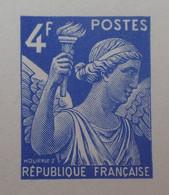 R1098/33 - 1944 - TYPE IRIS - N°656 - EPREUVE DE LUXE Des ATELIERS De FABRICATION Des T-P De PARIS - Luxeproeven