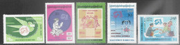 Burma  1974    Sc#239-43   UPU  Set   MLH    2016 Scott Value $11.50 - Myanmar (Burma 1948-...)
