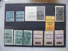 FRANCE Colonies ALGERIE Lot De Colis Postaux  Cote 237 € - Postpaketten