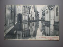 LOUVAIN - CATACLYSME 14 MAI 1906 - RUE WIERINCKX - L. LAGAERT N° 25 - Leuven