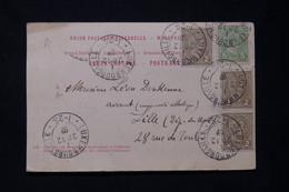 LUXEMBOURG - Affranchissement De Luxembourg Sur Carte Postale En 1897 Sur Carte Postale Pour La France - L 77727 - 1895 Adolphe Profil