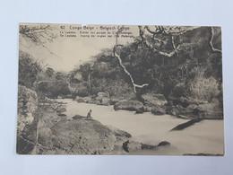 Carte Postale Congo Belge - Le Lualaba - Légère Déchirure - Voir Scans ... Lot220 . - Belgisch-Kongo - Sonstige