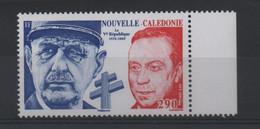 NOUVELLE CALEDONIE  N° 1054 ** -  Célébrité / GAL DE GAULLE Et M DEBRE   - Cote 6.00 € - Unused Stamps