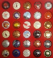 Lot De 30 Muselets Champagne #14 - Non Classificati