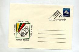 Lettre Cachet Vilnius Sur Cavalier  Scout ? - Litouwen
