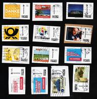 BRD  -  Marke Individuell -  13 Verschiedene Marken (Autohaus, Handwerk, Post, Fromm, Prokon,Balzer, Cralsheim..) - Privados & Locales