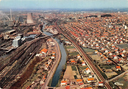 Montceau Les Mines Péniche Péniches Canal Du Centre Train Mine - Montceau Les Mines