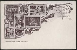 """1898ca.-Usa """"San Francisco California A Glimpse Of Chinatown"""" - Non Classés"""