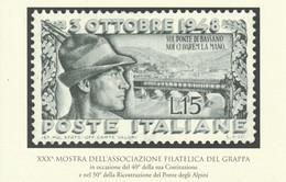 Militari - Bassano D.G. 1998 - 50° Ricostruzione Del Ponte Degli Alpini - - Patriottiche