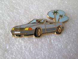PIN'S   MERCEDES  BENZ    500 SL   ARTHUS BERTRAND - Mercedes