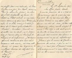 COURRIER DE MAURICE  PREVOST PRISONNIER DE GUERRE  KRIEGSGEFANGENEN LAGER SENNELAGER 09/1917 - 1914-18