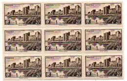 J2030 Aigues Mortes Bloc De 9 Du 501 ** - Unused Stamps