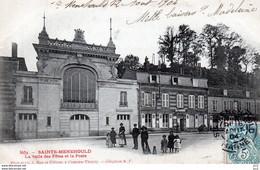 51 - Sainte-Menehould - Salle Des Fètes Et La Poste - Sainte-Menehould