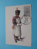 INFANTERIE SAPPEUR ( Costumes 1832 ) ABL ( FDC 27-4-1968 > ANGLEUR ) ! - Uniformen