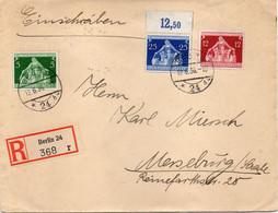 "ALLEMAGNE : REC . "" BERLIN 24  "" . 1936 . - Storia Postale"