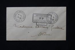 ST PIERRE ET MIQUELON - Cachet Du Gouvernement En PP ( Sans Valeur ) De St Pierre Sur Enveloppe En 1926 - L 77734 - Lettres & Documents