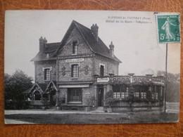 CPA - SELECTION - SAINT PIERRE DU VAUVRAY -  Hôtel De La Gare - Le Neubourg