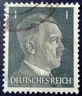 Allemagne Germany Deutschland 1941 Hitler Yvert 705 O Used - Used Stamps