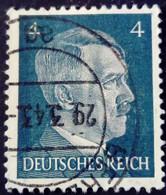 Allemagne Germany Deutschland 1941 Hitler Yvert 707 O Used - Used Stamps