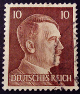 Allemagne Germany Deutschland 1941 Hitler Yvert 711 O Used - Used Stamps