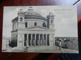 20079) MALTA MUSTA DOME NON VIAGGIATA - Malta