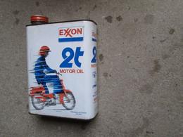 Bidon Ancien  (EXXON) - Cars