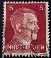 Allemagne Germany Deutschland 1941 Hitler Yvert 713 O Used - Gebraucht