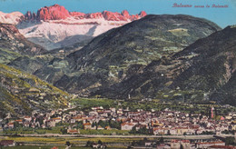 1926-Bolzano Verso Le Dolomiti, Diretta In Svizzera Affrancata 75c.Floreale - Bolzano (Bozen)