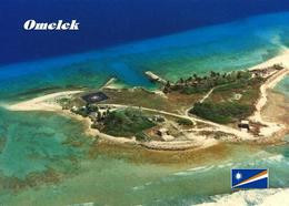 Marshall Islands Omelek Aerial View New Postcard Marshallinseln AK - Marshall Islands