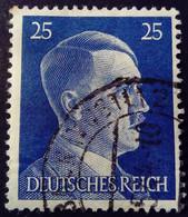 Allemagne Germany Deutschland 1941 Hitler Yvert 717 O Used - Gebraucht
