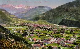 1933-Bolzano, Veduta Catinaccio E Latemar, Viaggiata - Bolzano (Bozen)