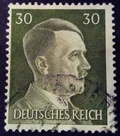Allemagne Germany Deutschland 1941 Hitler Yvert 718 O Used - Gebraucht