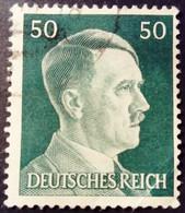 Allemagne Germany Deutschland 1941 Hitler Yvert 720 O Used - Gebraucht
