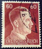 Allemagne Germany Deutschland 1941 Hitler Yvert 721 O Used - Gebraucht