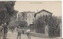 83 CAVALAIRE  HOTEL BOULISTES JOUEURS DE BOULES ANIMATION TOP... - Cavalaire-sur-Mer
