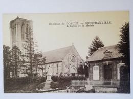 Environs De Dozulé    -  GOUSTRANVILLE L église Et La Mairie - Andere Gemeenten