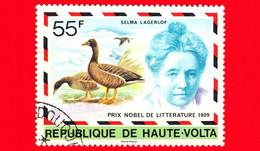 ALTO VOLTA - Nuovo Oblit. - 1977 - Selma Lagerlof - Premio Nobel In Letteratura Nel 1909 - 55 - Obervolta (1958-1984)