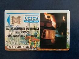 Télécarte Ceres Technologie, Champignons, France 1991 - Other