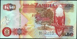 ♛ ZAMBIA - 50 Kwacha 2009 UNC P.37 H - Zambia