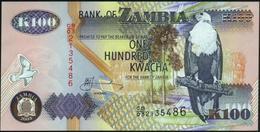 ♛ ZAMBIA - 100 Kwacha 2003 UNC P.38 D - Zambia