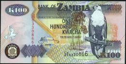 ♛ ZAMBIA - 100 Kwacha 2009 UNC P.38 H - Zambia