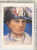 Carabinieri - Biglietto 4 Pagine - Illustrazione P. Annigoni  - Il Carabiniere - Otros
