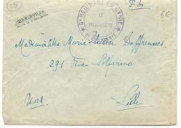 Cachet Militaire : 68 - CHARLEVILLE . - Guerre De 1914-18
