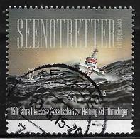 2015  150 Jahre Gesellschaft Zur Rettung Schiffbrüchiger - Oblitérés