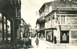 LESPARRE   = Rue Jean Jacques Rousseau      1924 - Lesparre Medoc